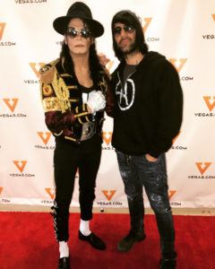 Jalles Franca and Criss Angel for Vegas.com